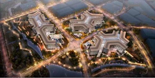阿里巴巴北京总部鸟瞰图曝光 2024年投入使用