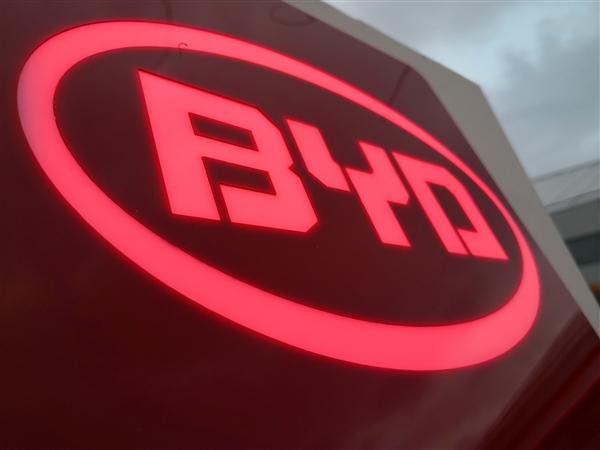 比亞迪1-9月累銷達33.6萬輛 新能源增幅近40% 燃油車大跌35%