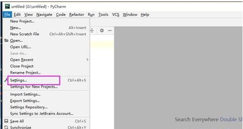 pycharm设置fonts的操作教程