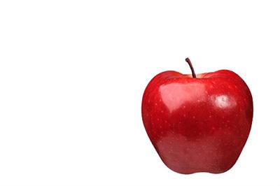将苹果导入到PS中