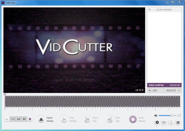 音视频剪辑软件(VidCutter)