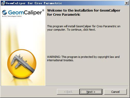 几何厚度测量分析工具(GeomCaliper For Creo) v2.5官方版