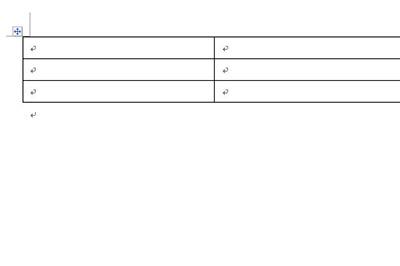 以下面的这张表格为例子