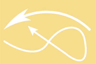 自定义路径的箭头