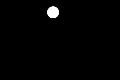 画一个圆形