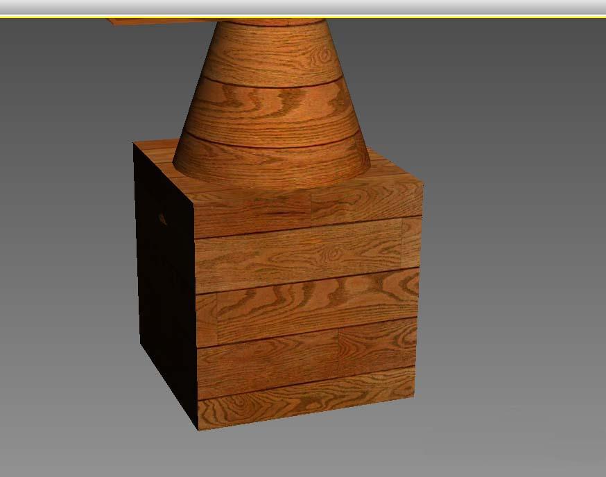 使用3Dmax绘制出木制雕塑的详细步骤介绍