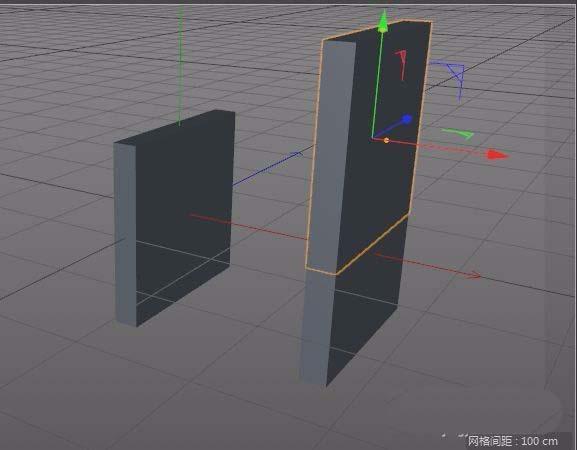 c4d建模立体小石凳模型的简单教程