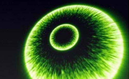 使用AE制作绿色冲击波效果的操作步骤