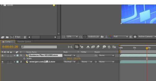 在Ae中实现视频画中画效果的详细步骤