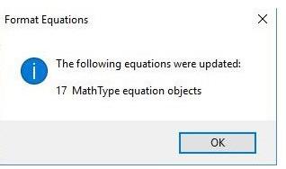 Mathtype中批量更改已有公式的具体操作流程