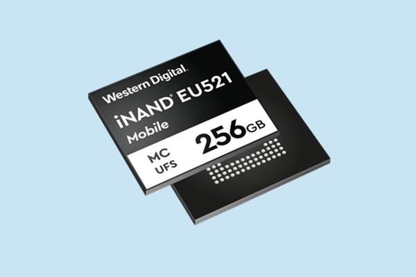 5G手機絕配!西數發布UFS 3.1閃存:寫速可達800MB/s