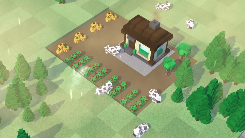 Steam 上架《桌面农场》:在动态壁纸上种菜