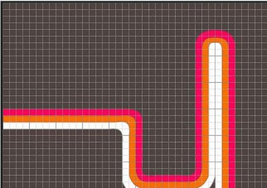 ps CS6钢笔工具怎么设计复古曲线?