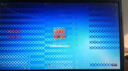 电脑花屏是什么原因?