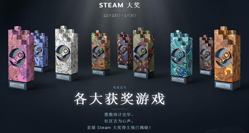 首屆Steam大獎揭曉:頒獎詞很萌很有愛