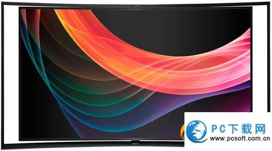三星发布世界首款曲面4K智能电视