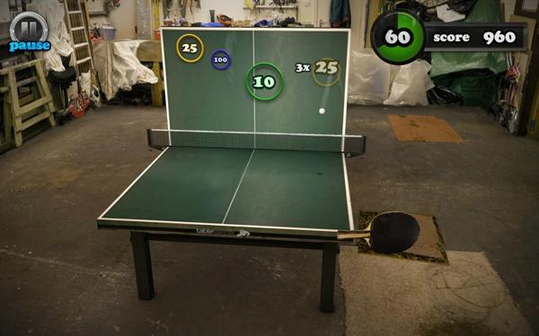 指尖乒乓球