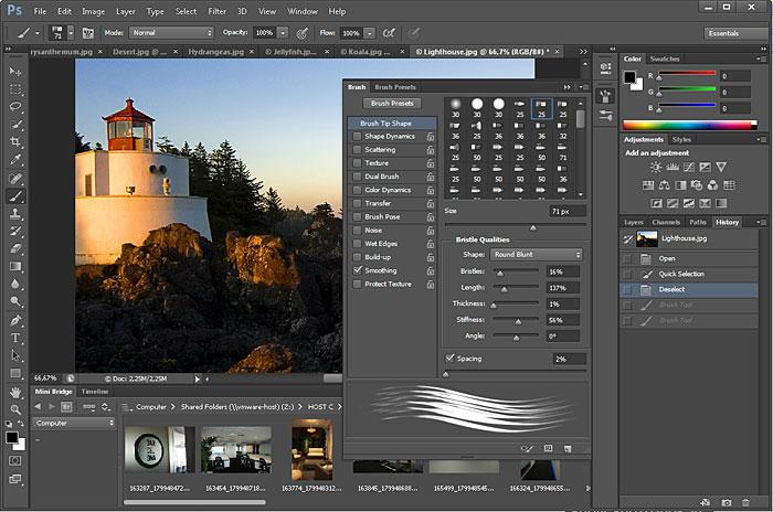 Adobe PhotoShop CS6截图2