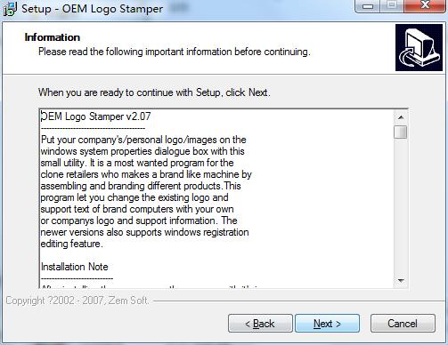 OEM Logo Stamper(图标制作软件) 2.07 官方版