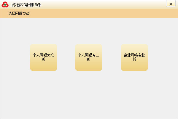 山东省农村信用社网上银行安全控件