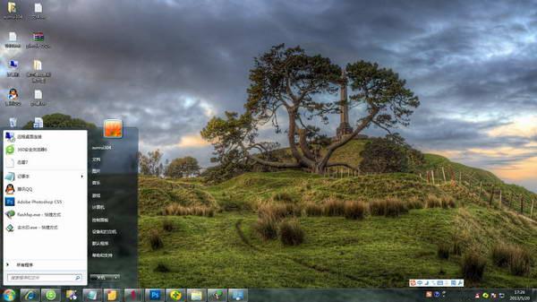 微軟官網最新新西蘭風景windows8系統主題