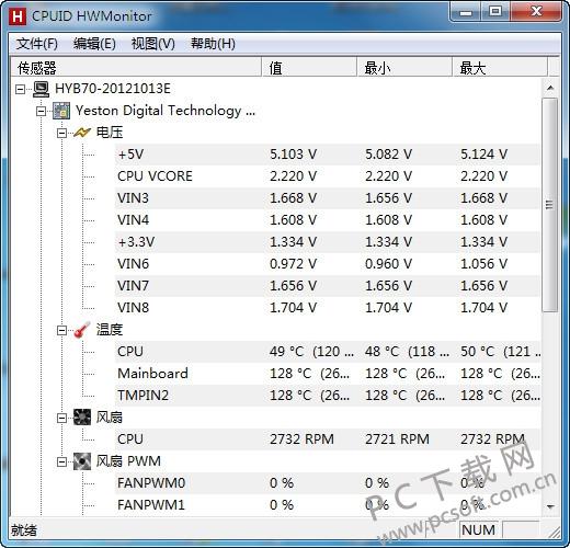 cpu温度检测软件截图0