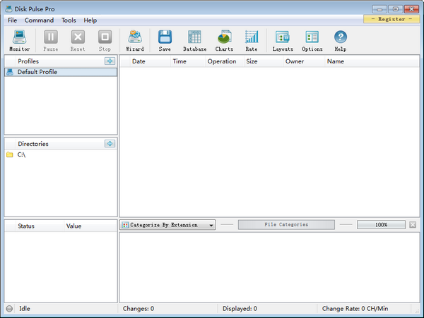 Disk Pulse Pro(磁盘监测工具)截图0