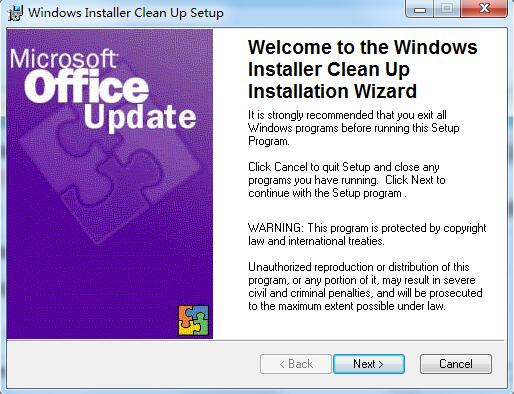 Windows Installer Clean Up截图0