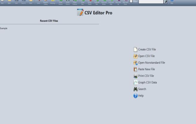 Gammadyne CSV Editor