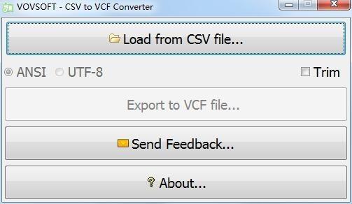 CSV to VCF Converter截图0
